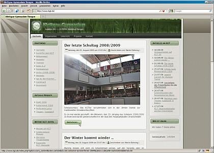 Die Königin im neuen Gewande - natürlich darf auch die KGT-Webseite die Niarts-Sommerkollektion 2009 nicht verpassen!