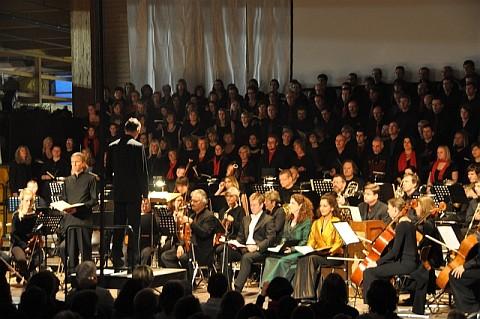 Bei Elias 2009 boten HGWT und KGT Chormassen und Starbesetzung auf.