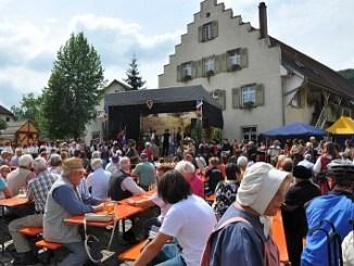 Eröffnung des Mittelaltermarktes in Lauchringen
