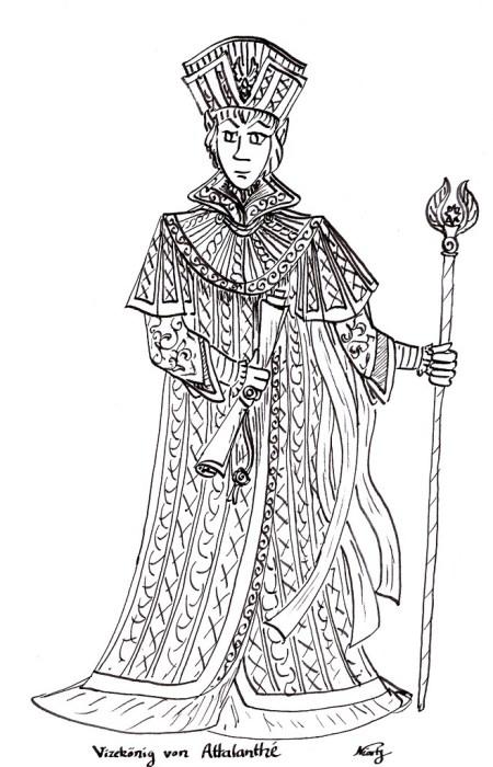 Jitro Messalinas, der Vizekönig von Atalanthe auf Belakane