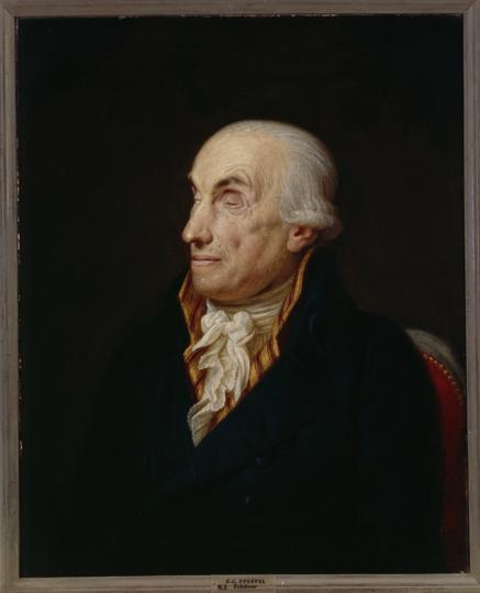 Gottlieb Konrad Pfeffel, Gemälde von Georg Friedrich Adolph Schöner, Quelle: Wikimedia Commons