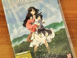 """Die DVD von """"Ame & Yuki - die Wolfskinder"""", wie sie seit 26. Juli 2013 im Handel erhältlich ist."""