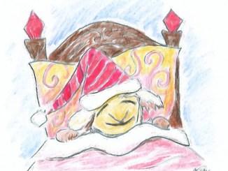 Schlafendes Niarts-Schaf