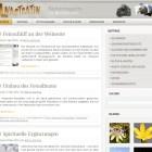 Feinschliff an der Webseite
