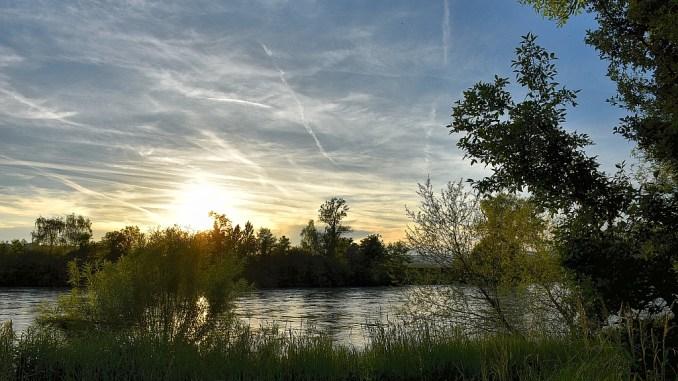 Sonnenuntergang am 21. Mai 2016 (Foto: Martin Dühning)