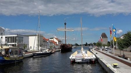 Hafen von Ueckermünde (Foto: Martin Dühning)