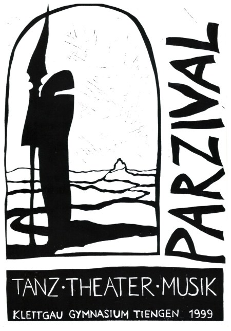 Zur großen Parzival-Aufführung 1999 gab es ein umfangreiches Programmheft, gestaltet von der Schülerzeitung Phoenix