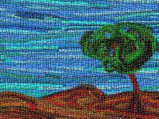 Ein Baum im Lande Davor