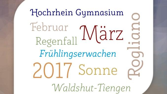 "Wortesalat in der Schriftart ""Rogliano"" (Grafik: Martin Dühning)"