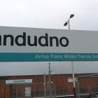 Die Ankunft in Llandudno, Wales