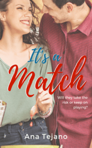 It's a Match - Ebook Cover v5 Instafreebie