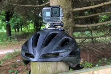 Showcasing the GoPro Hero 8 with Vented Helmet Strap