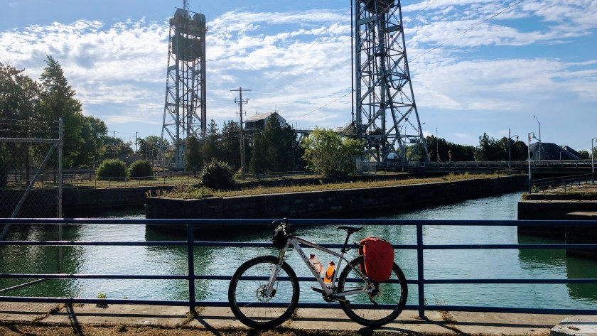 First looks at the Welland Canal in Port Colborne