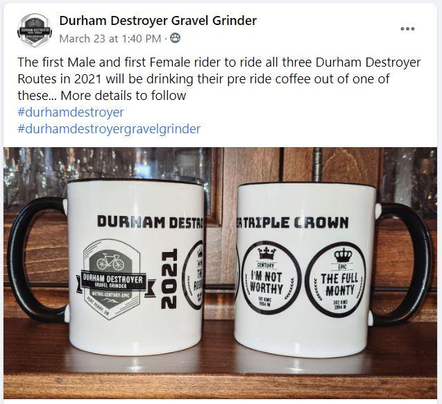 Photo of Durham Destroyer Triple Crown Mug