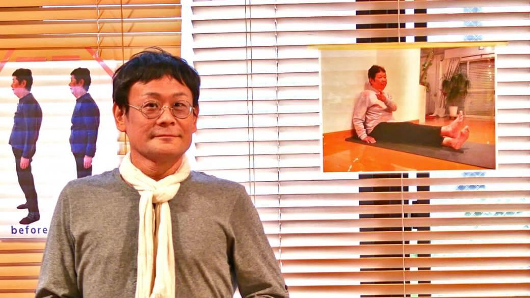 内田かつのり先生の正面の写真