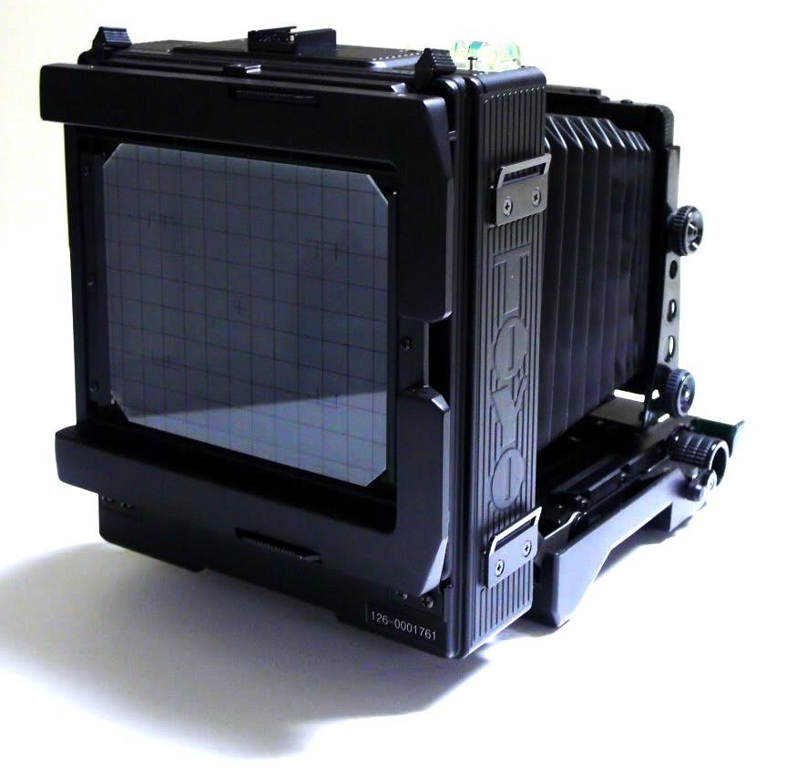 toyo 4x5 field camera