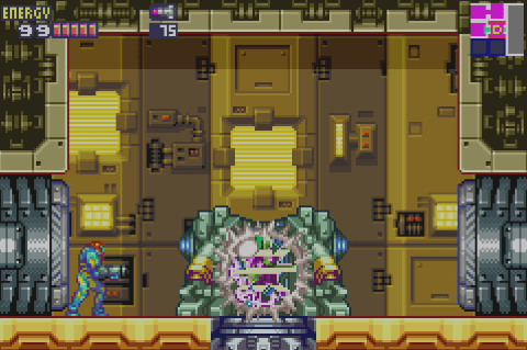 Metroid Fusion Screen Shot 4:10:15, 4.38 PM