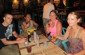 Cocktails at Monsoon Bar, Bangla Road