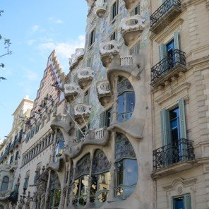 Houses that three different architects including Gaudi unofficially competed to construct