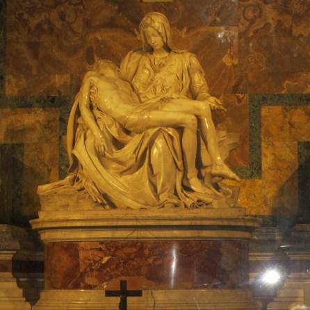 Michelangelo's Piater in St Peter's Basilica