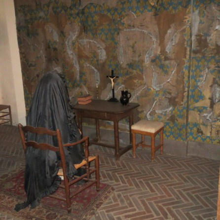 Reconstruction of Marie-Antoinette's cell