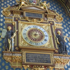 Oldest clock in Paris. Mechanism from 1300s