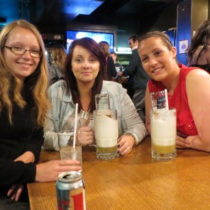 Hostel bar crawl with Irish ladies