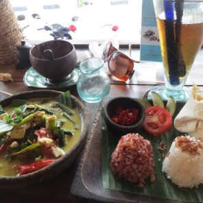 Late lunch at cool cafe