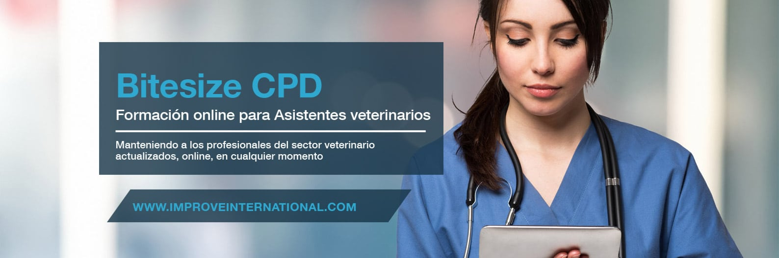 Formación online para Asistentes veterinarios con Improve International