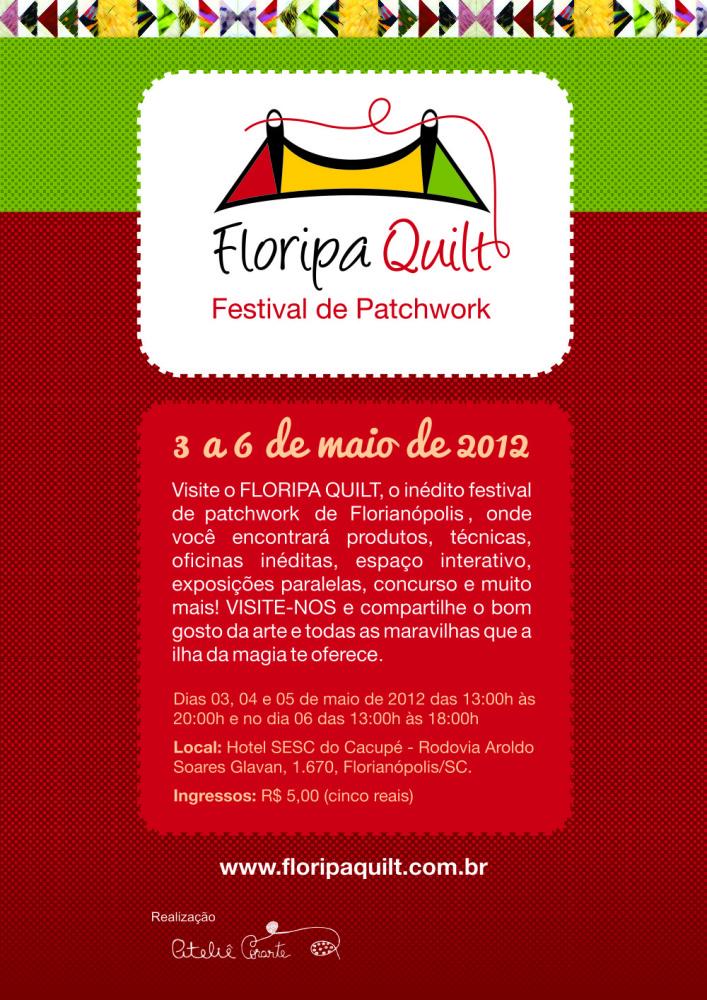 Nos vemos no Floripa Quilt!