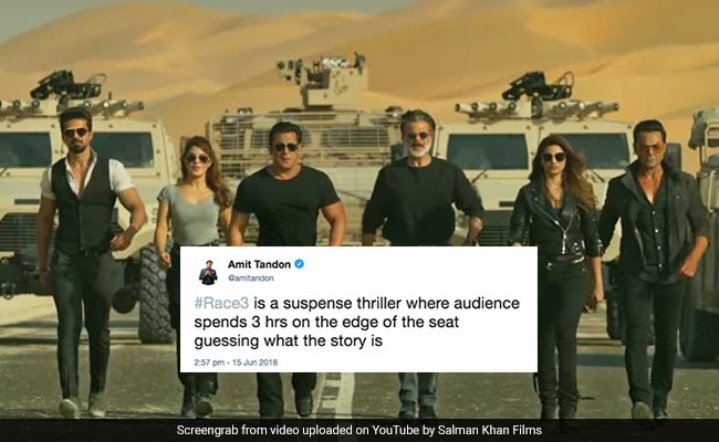 Race 3 Reviewed By Twitter: Here Are The Funniest Reactions