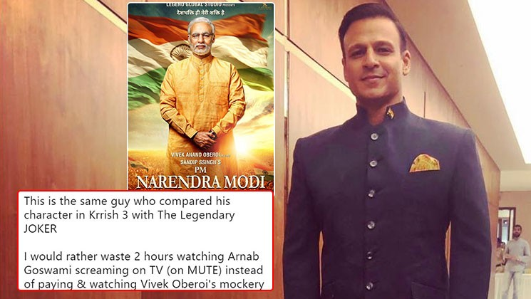 PM Modi's biopic poster looks nothing like PM Modi or Vivek Oberoi & people have the funniest reactions
