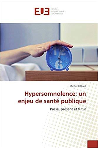 Livre - Hypersomnolence - un enjeu de santé publique