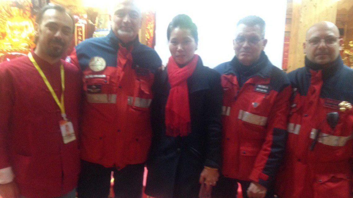 La cerimonia dei rintocchi al Tempio buddista apre i festeggiamenti per il Capodanno cinese.