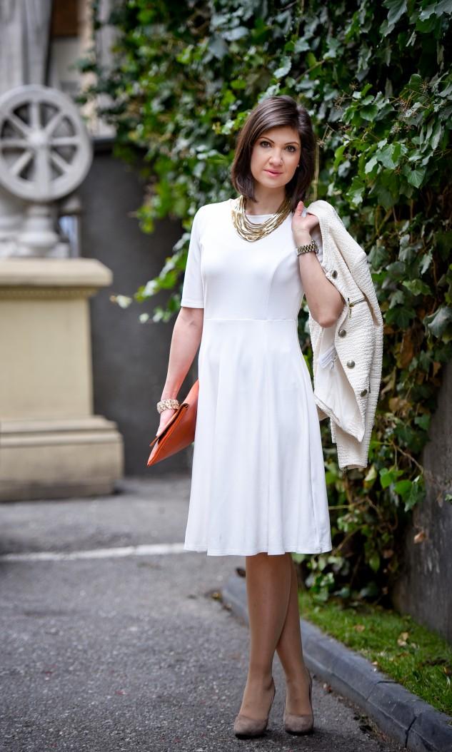 rochie alba ancasdiary fashion blog