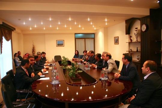 meeting with Mayor of Yerevan