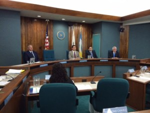 Pico Rivera City Council discussing the friendship city