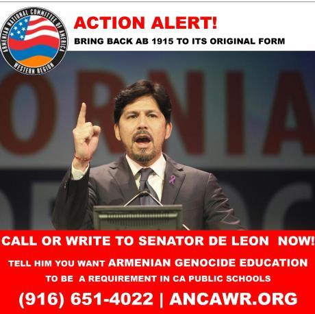 De Leon Action Alert