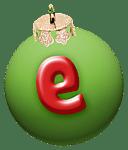 alphabet-boule-noel-vert-e