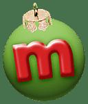 alphabet-boule-noel-vert-m