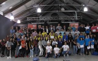 Los Titanes, del IES Aguas Vivas, ganan la primera competición de robótica para institutos organizado por CEEI Guadalajara