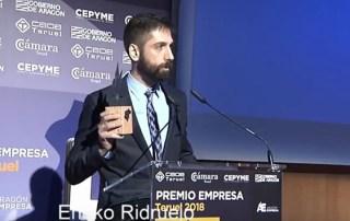 La empresa CEEIARAGON Dorsal 8 recibe el premio Semilla de los Premios Empresa Teruel