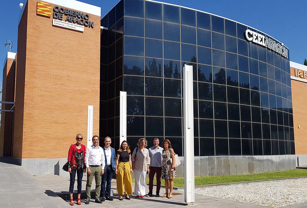 CEEI ARAGON acoge la tercera reunión de consorcio del proyecto Acele-Startups
