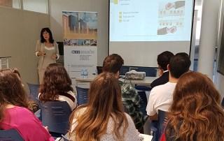 Alumnos de la Universidad de Oviedo visitan CEEIARAGON