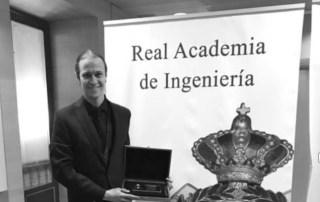 David Gascón, co-fundador de Libelium, premiado por la Real Academia de Ingeniería