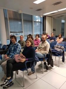 Emprendedores en viaje de aprendizaje en CEEIARAGON