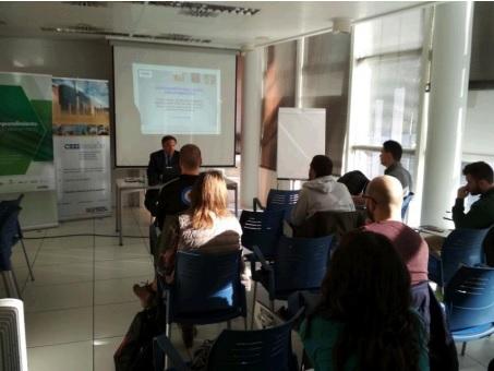 Formación para emprendimiento agroalimentario en CEEIARAGON