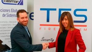 La empresa CEEIRAGON Titan Fire System firma un acuerdo de distribución