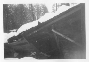 Mill at Forbestown, after collapse