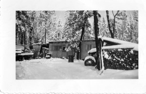 Headquarters of the Hill Top Ranch 1948